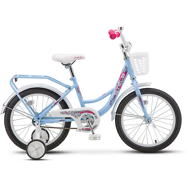 Трёхколесный велосипед Stels Flyte Lady 18 (Z011) голубой