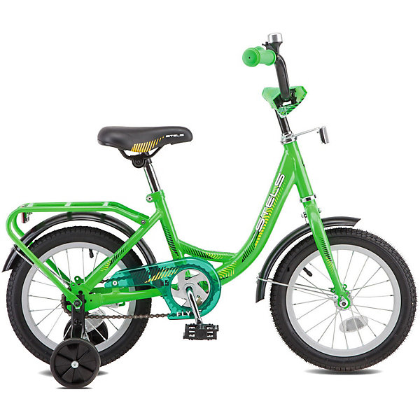 Stels Двухколесный велосипед Flyte 14, зелёный