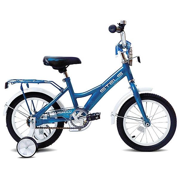 Stels Двухколесный велосипед Talisman 14 дюймов, синий