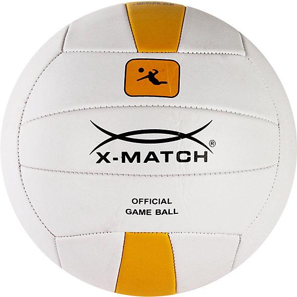 Мяч волейбольный X-Match, 22 см, Белый