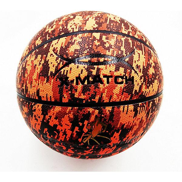 X-Match Мяч баскетбольный ламинированный, 21 см