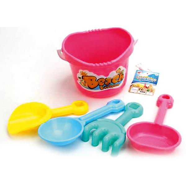 Наша Игрушка Набор для игр с песком Наша игрушка, 5 предметов