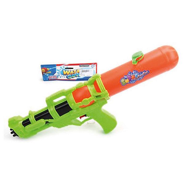 Бластер водяной Наша игрушка, 43 смВодяные пистолеты<br>Характеристики товара:<br><br>• материал: пластик<br>• размер бластера: 43х22х10 см<br>• товар представлен в ассортименте<br><br>Водяной бластер подойдет для активных игр на свежем воздухе. Вода набирается в резервуар в задней части игрушки. Чтобы выстрелить, надо нажать на курок. Изделие выполнено из безопасного пластика.