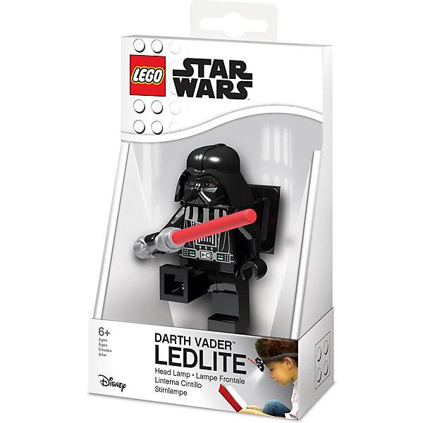 Купить Налобный фонарик LEGO Star Wars Дарт Вейдер, Китай, grau/schwarz, Мужской
