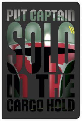 Звездные войны Книга для записей LEGO Star Wars Боба Фетт, 96 листов printio звездные войны star wars