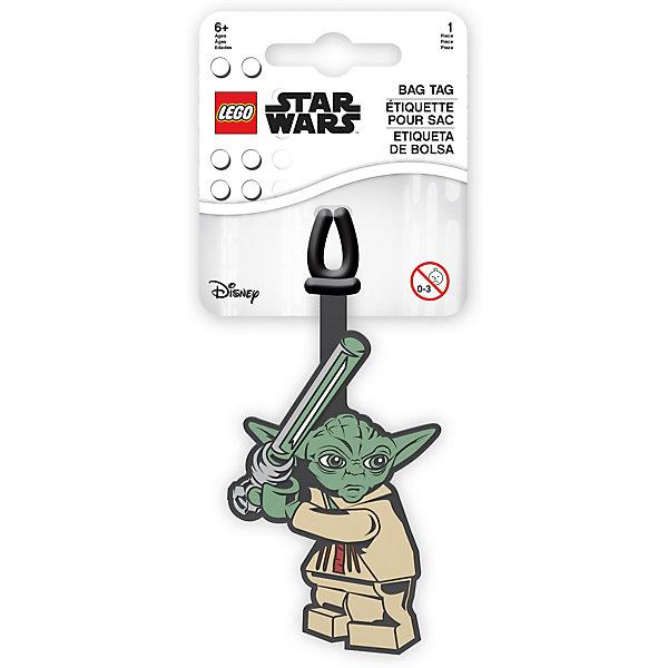 - Бирка для багажа LEGO Star Wars Йода