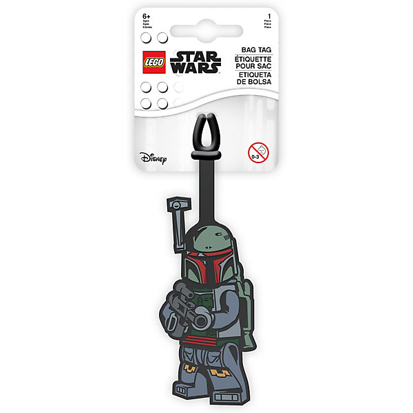 - Бирка для багажа LEGO Star Wars Боба Фетт