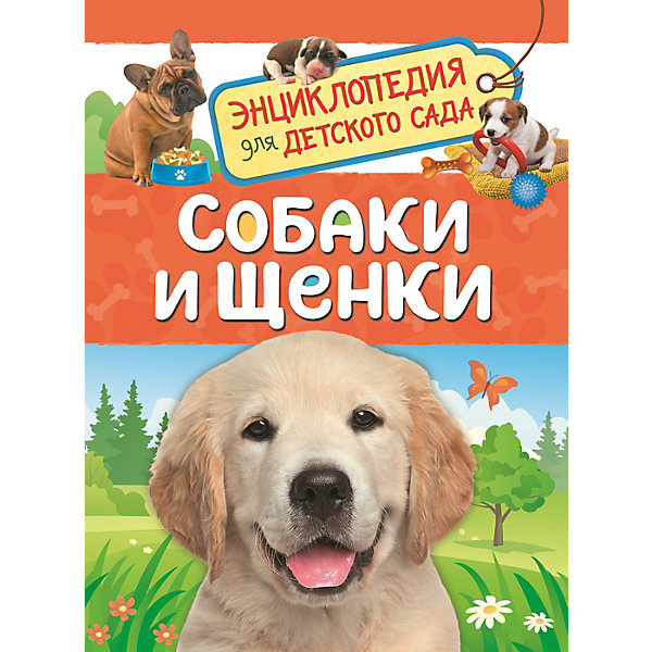 Росмэн Энциклопедия для детского сада Собаки и щенки