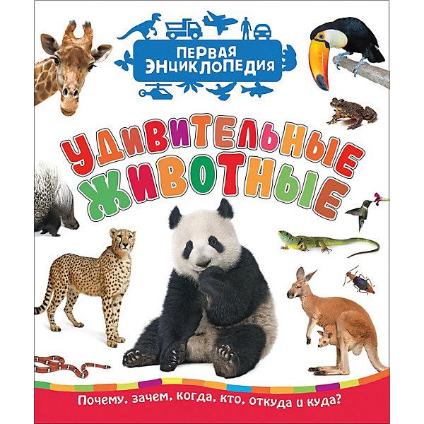 Росмэн Первая энциклопедия Удивительные животные