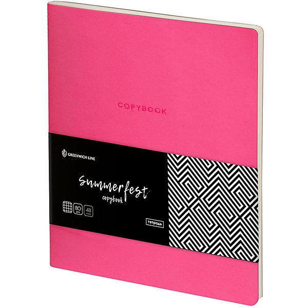 Greenwich Line Тетрадь Лайт Summerfest, А5, розовый