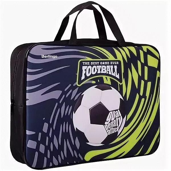 Купить Папка-сумка с ручками Berlingo Goal, А4, Россия, Унисекс
