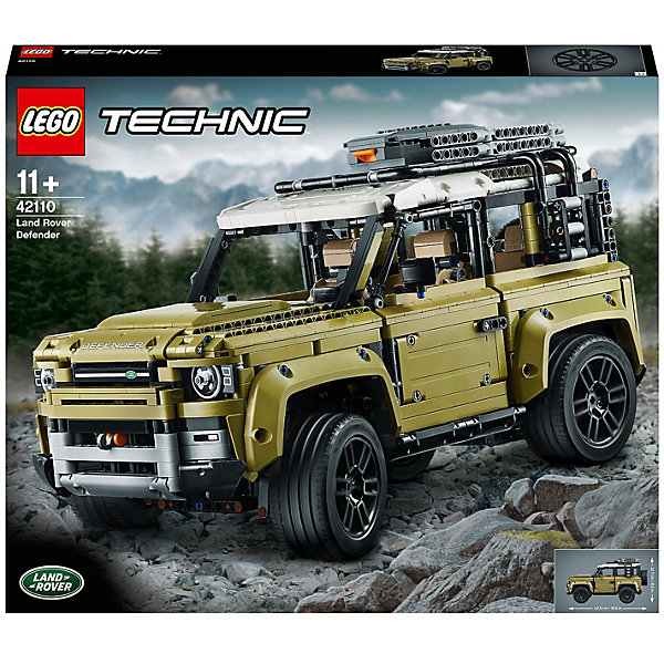 Конструктор LEGO Technic Land Rover Defender 42110 11140703