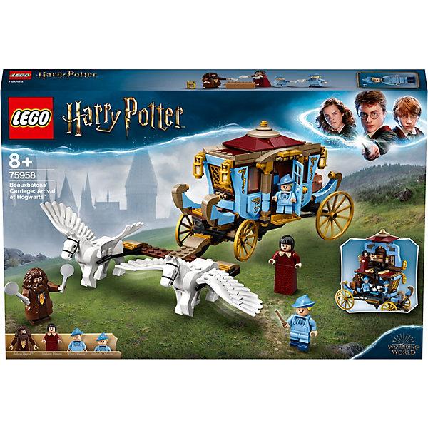 LEGO Конструктор Harry Potter Карета школы Шармбатон: приезд в Хогвартс, 430 деталей, арт 75958
