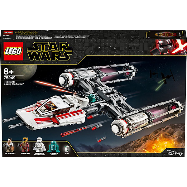 LEGO Конструктор Star Wars 75249: Звёздный истребитель Повстанцев типа Y