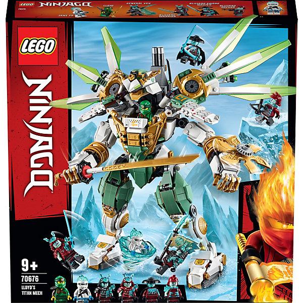 LEGO Конструктор Ninjago 70676: Механический Титан Ллойда