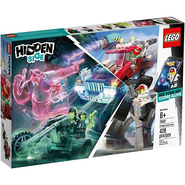 LEGO Конструктор Hidden Side Трюковый грузовик Эль-Фуэго 70421