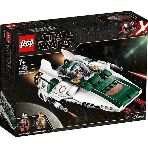 LEGO Конструктор LEGO Star Wars 75248: Звёздный истребитель Повстанцев типа А конструктор lego star wars 75133 боевой набор повстанцев