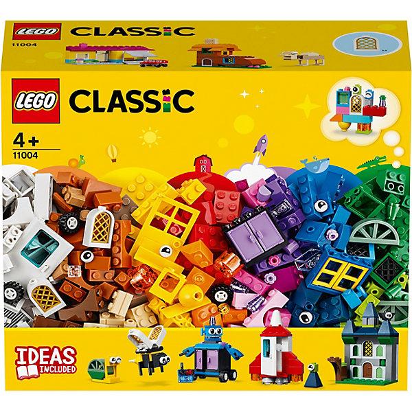 LEGO Конструктор Classic 11004: Набор для творчества с окнами