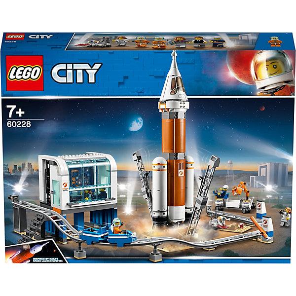 LEGO Конструктор City Space Port 60228: Ракета для запуска в далекий космос и пульт управления запуском