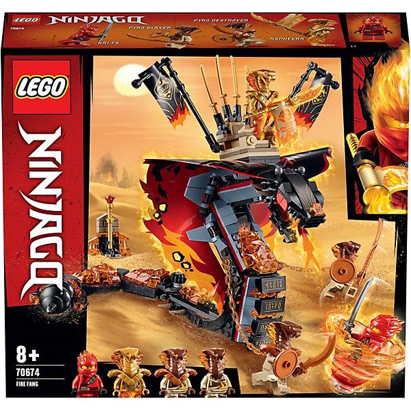 LEGO Конструктор Ninjago 70674: Огненный кинжал