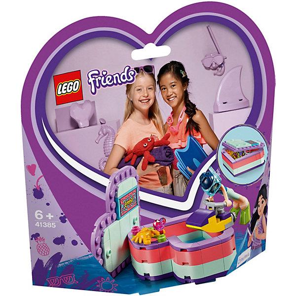 Купить Конструктор LEGO Friends 41385: Летняя шкатулка-сердечко для Эммы, Женский