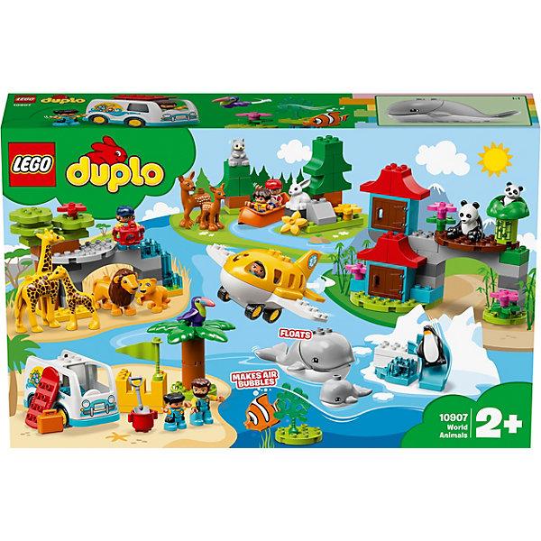 LEGO Конструктор DUPLO Town 10907: Животные мира