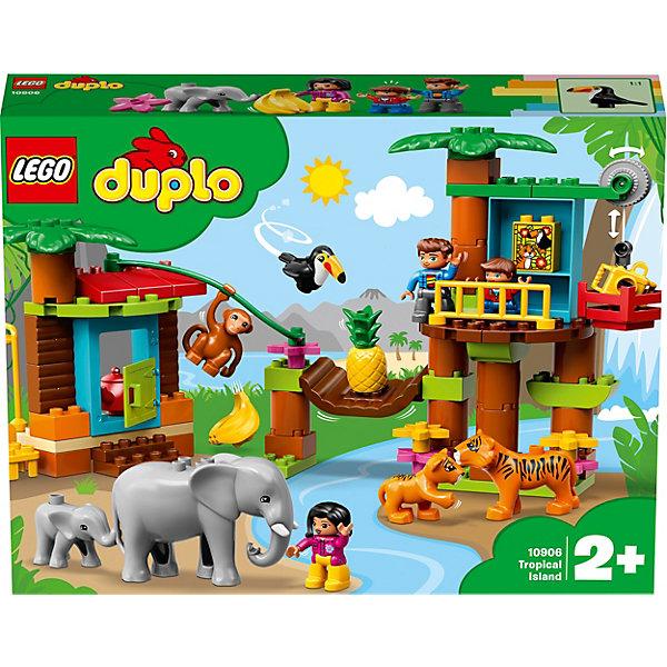 LEGO Конструктор DUPLO Town 10906: Тропический остров