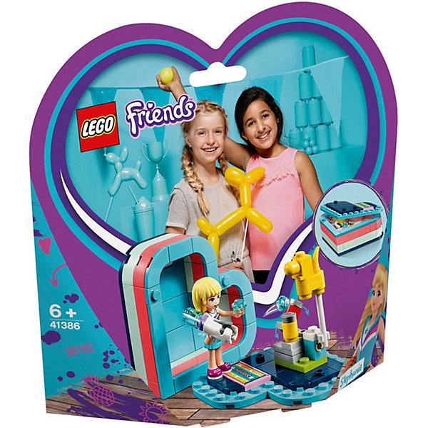 Купить Конструктор LEGO Friends 41386: Летняя шкатулка-сердечко для Стефани, Женский