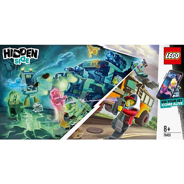 LEGO Конструктор Hidden Side Автобус охотников за паранормальными явлениям, 689 деталей, арт 70423
