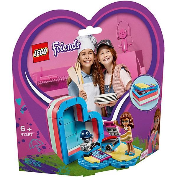 LEGO Конструктор Friends 41387: Летняя шкатулка-сердечко для Оливии