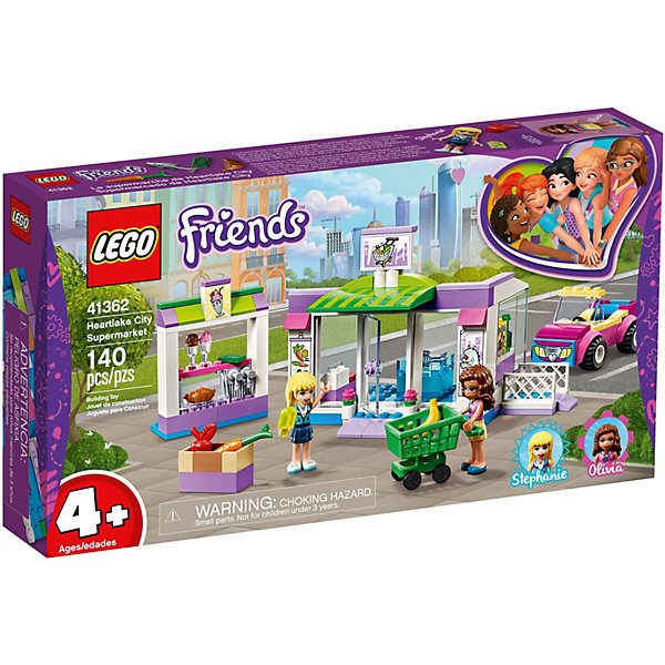 LEGO Конструктор Friends 41362: Супермаркет Хартлейк Сити