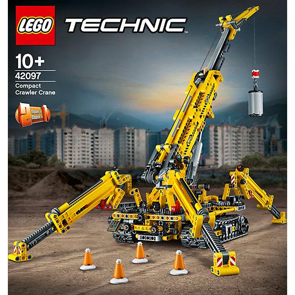 LEGO Конструктор Technic Мостовой кран, 920 деталей, арт 42097