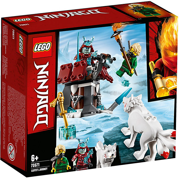 LEGO Конструктор Ninjago 70671: Путешествие Ллойда