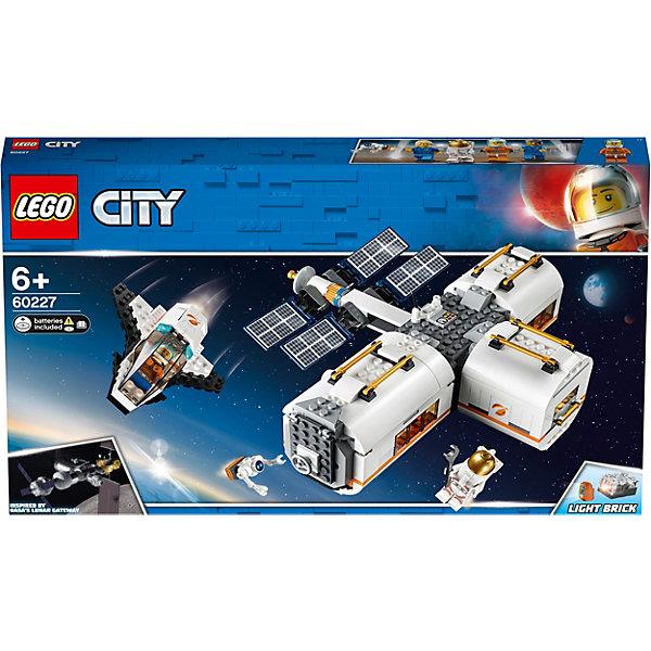 LEGO Конструктор LEGO City Space Port 60227: Лунная космическая станция