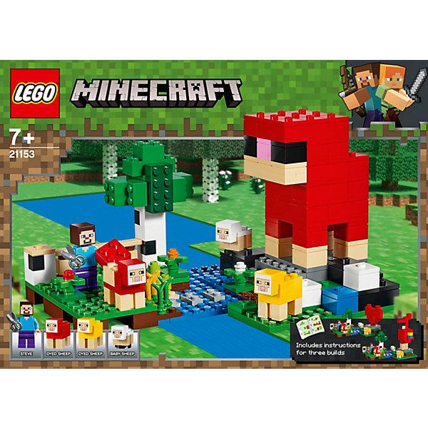 Конструктор LEGO Minecraft Шерстяная ферма 21153 11140883