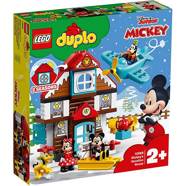 LEGO Конструктор DUPLO Disney 10889: Летний домик Микки