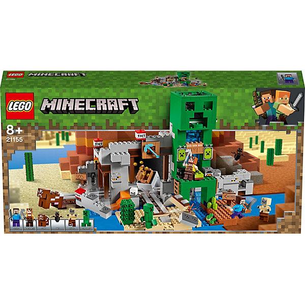 LEGO Конструктор Minecraft Шахта Крипера 21155