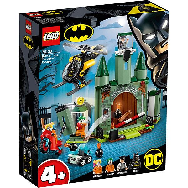 LEGO Конструктор Super Heroes 76138: Бэтмен и побег Джокера
