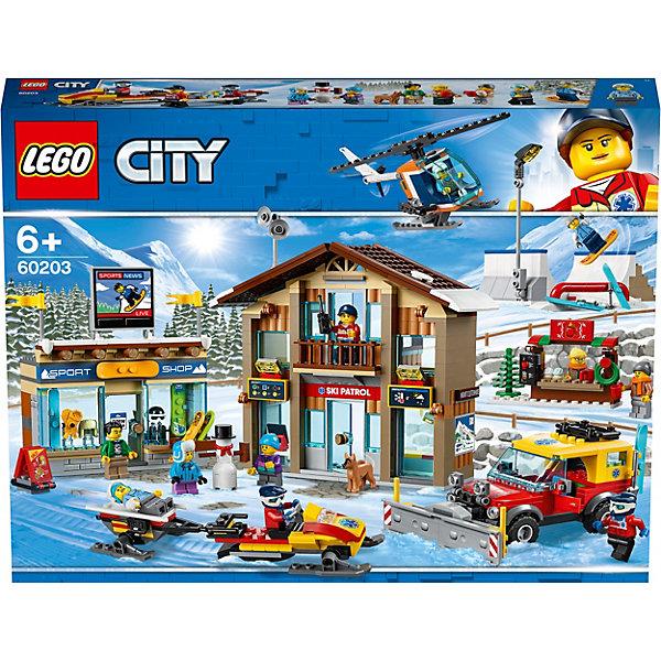 Купить Конструктор LEGO City Town Горнолыжный курорт 60203, Мужской