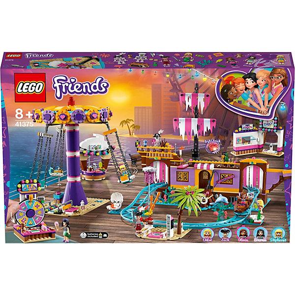 LEGO Конструктор Friends 41375: Прибрежный парк развлечений