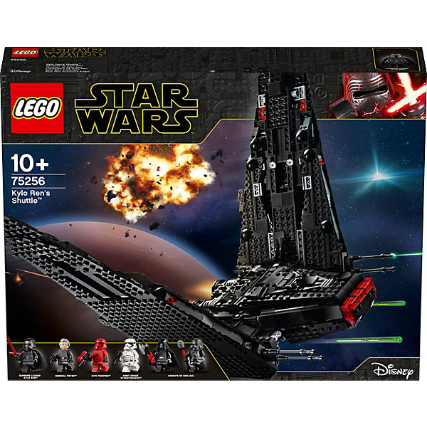 LEGO Конструктор Star Wars 75256: Шаттл Кайло Рена