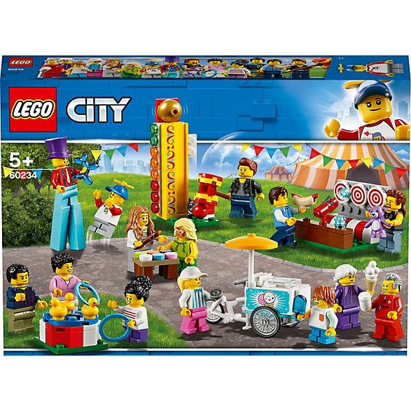 LEGO Конструктор City Town 60234: Комплект минифигурок Весёлая ярмарка