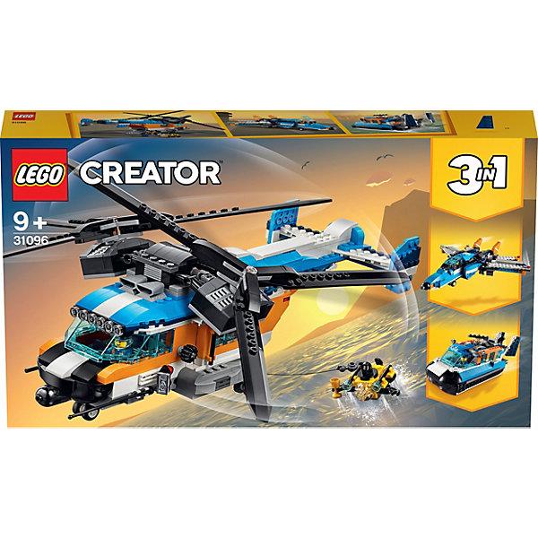 Купить Конструктор LEGO Creator 31096: Двухроторный вертолёт, Мужской