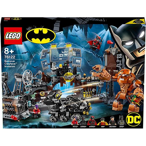 LEGO Конструктор Super Heroes 76122: Вторжение Глиноликого в бэт-пещеру