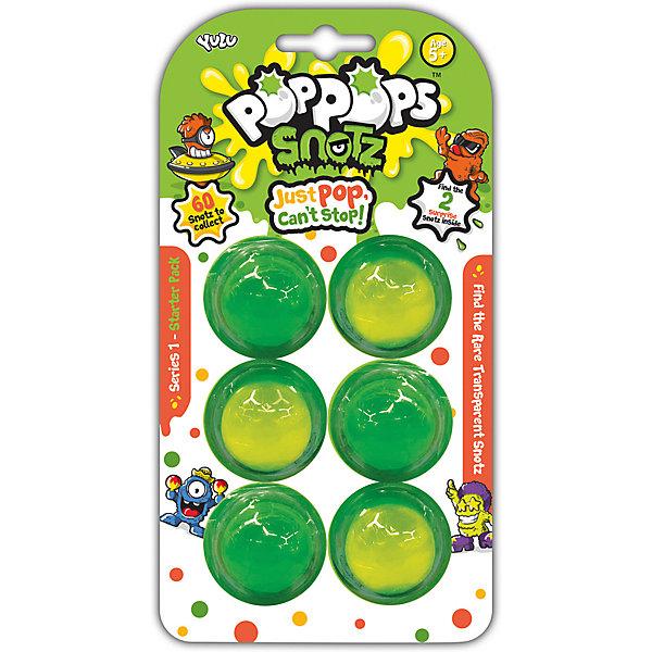 BANDAI Игровой набор Yulu PopPops Snotz, 6 шт