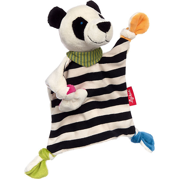Мягкая игрушка Sigikid, комфортер панда, коллекция Классик,