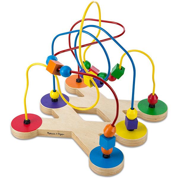 Melissa & Doug Лабиринт с бусинами Классические игрушки