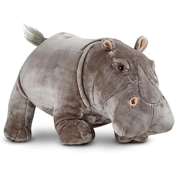 Купить Мягкая игрушка Melissa & Doug, Гиппопотам, Китай, Унисекс