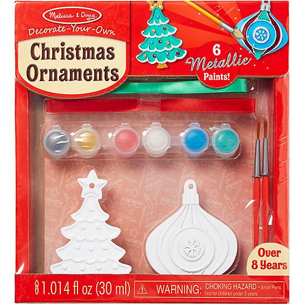 Купить Создай елочные игрушки Melissa & Doug Творчество , Китай, Унисекс