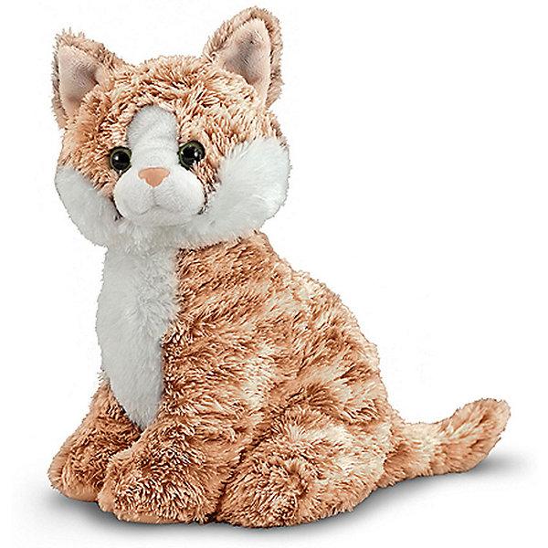 Melissa & Doug Мягкая игрушка Doug, Полосатая кошка